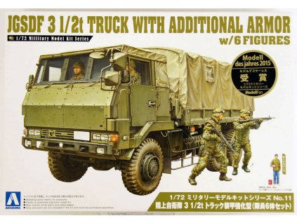 JGSDF 3 1/2 T Truck With Additional Armor 1:72
