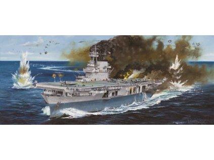 USS Yorktown CV-5 1:350