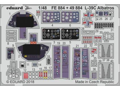 Doplnky pre L-39C Albatros (Trumpeter) 1:48