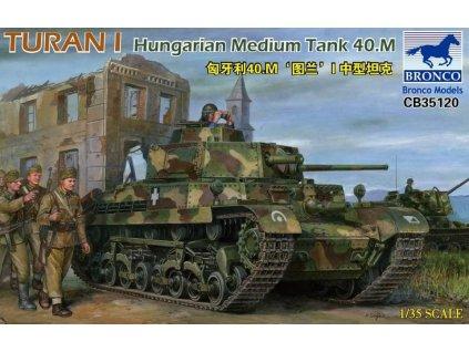 Turan I Hungarian Medium Tank 40.M 1:35