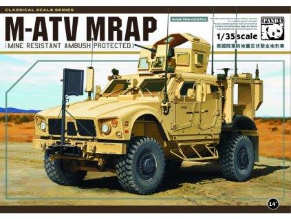 M-ATV MRAP (Mine Resistant Ambush Protected) 1:35