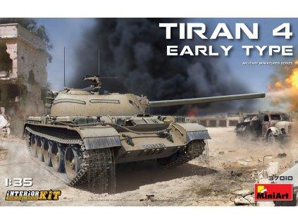 Tiran 4 Early Type. Interior Kit 1/35 1:35