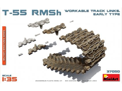 T-55 RMSh Workable Track Links. Early Type 1/35 1:35