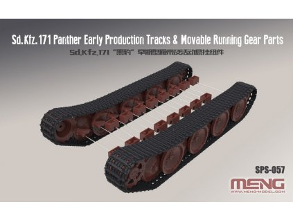 Sd.Kfz.171 Panther Early Production Tracks & Mov 1:35