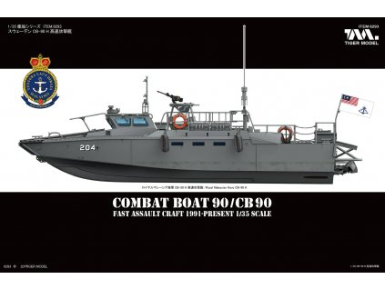 Sweden CB-90 FDST Assault Craft CB 90/Combat Boat 90 1:35