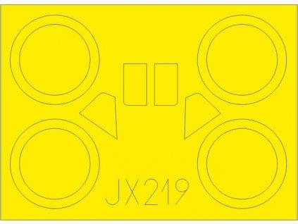 Masky pre I-153 Chaika (ICM) 1:32