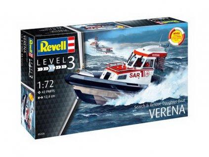 Rescue Boat DGzRS Verena 1:72