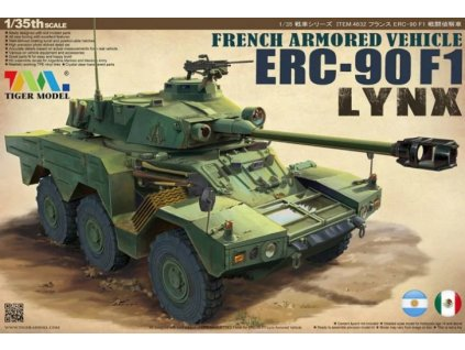 French Armored Vehicle ERC-90F1 Lynx 1:35
