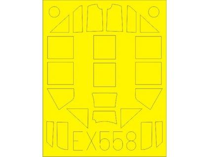 Masky pre Bf 109G-4 (Eduard) 1:48