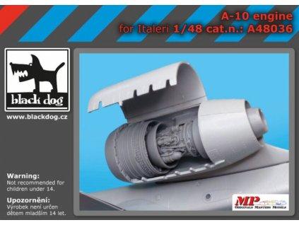 Motor pre A-10 (Italeri) 1:48