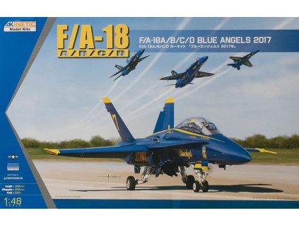 F/A-18A/B/C/D Blue Angels 2017 1:48