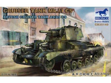 Cruise Tank Mk.I/ICS British CruiserTank A9/A9CS 1:35
