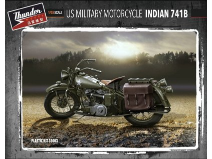 US Military Indian 741B (2 kits in box) 1:35