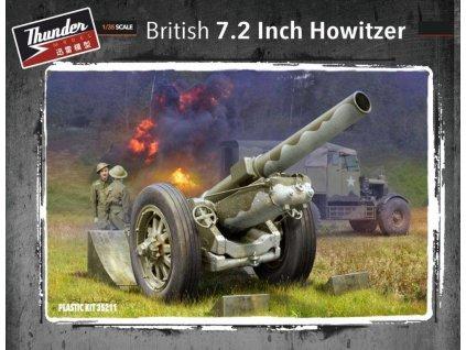 British 7,2 inch howitzer 1:35