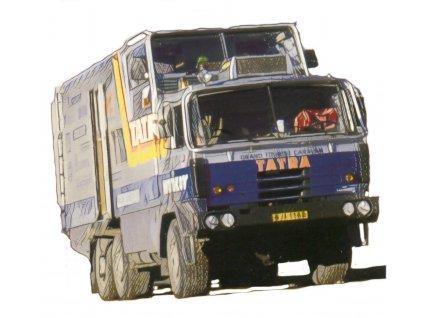 """Tatra 815 GTC """"Kolem světa"""" 1:72"""
