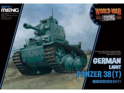 German Light Panzer 38T WW Toons edition
