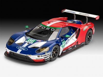 Ford GT Le Mans 2017 ModelSet 1:24