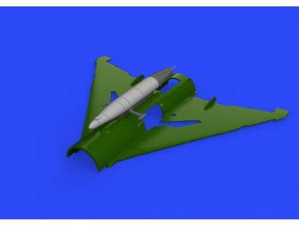 SPS-141 ECM pod pre MiG-21 (Eduard) 1:72