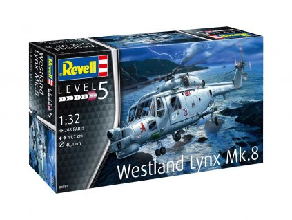 Plastic ModelKit vrtulnik 04981 Westland Lynx Mk 8 1 32 a88649686 10374