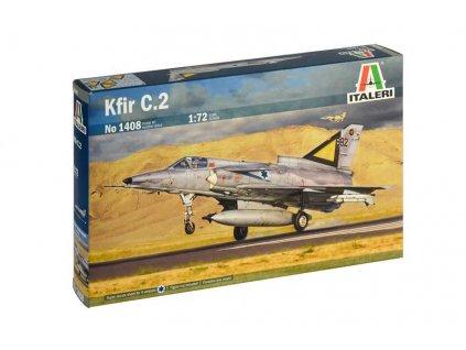 Model Kit letadlo 1408 Kfir C 2 1 72 a88792296 10374