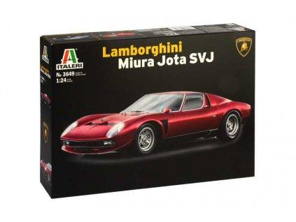 Model Kit auto 3649 Lamborghini Miura Jota SVJ 1 24 a99356847 10374