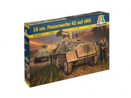 Model Kit military 6562 15 cm Panzerwerfer 42 auf sWS 1 35 a99356906 10374