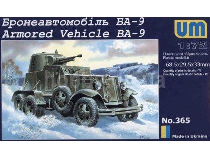 Armored Vehicle Ba-9 1:72