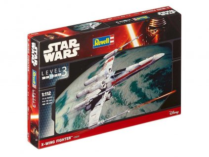 Plastic ModelKit SW 03601 X wing Fighter 1 112 a58955121 10374