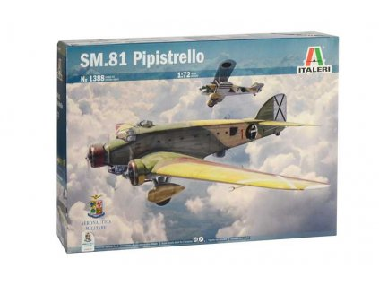 Model Kit letadlo 1388 SM 81 PIPISTRELLO 1 72 a76009736 10374