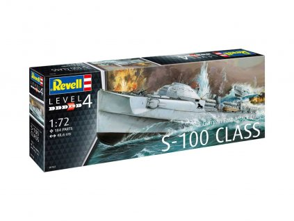 Plastic ModelKit lod 05162 German Fast Attack Craft S 100 CLASS 1 72 a99290262 10374