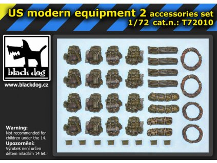 US modern equipment 2 1:72