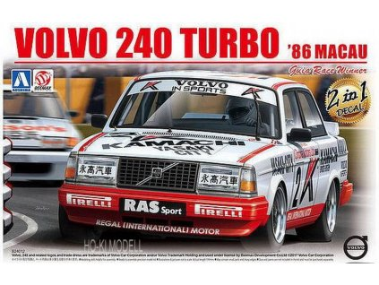 Volvo 240 Turbo Macau 1986 1:24