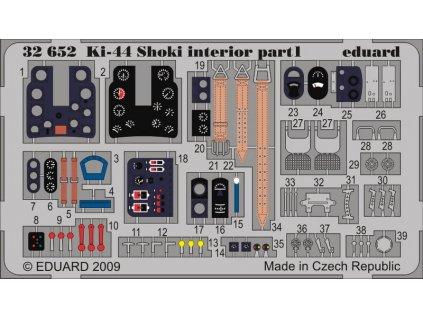 Ki-44 Shoki interior S.A. 1:32
