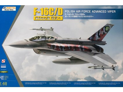 F-16CD POLISH Air Force 1:48
