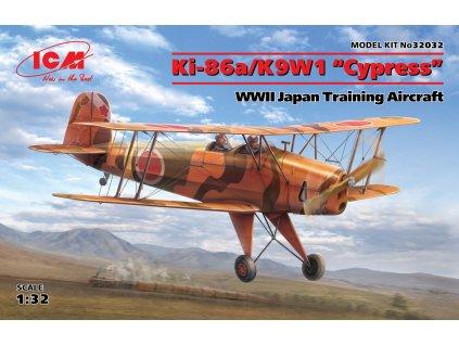 """Ki-86a/K9W1 """"Cypress"""",WWII Japan Trainin Aircraft 1:32"""