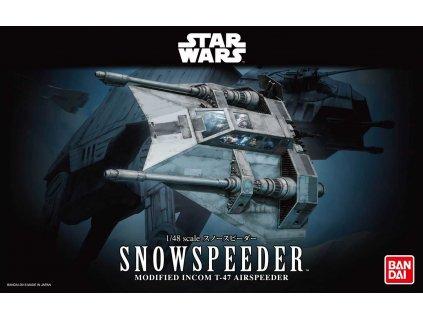 Plastic ModelKit BANDAI SW 01203 Snowspeeder 1 48 a99288593 10374