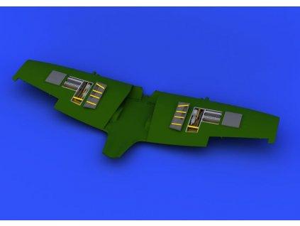 Spitfire Mk. VIII gun bays 1:48