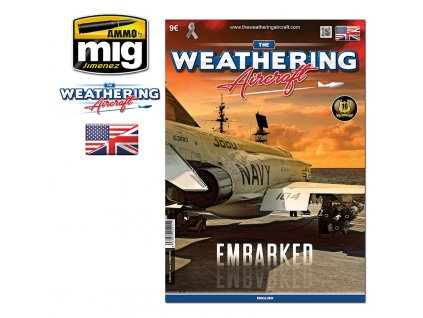 the weathering aircraft 25 embarked english