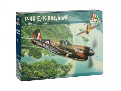 Model Kit letadlo 2795 P 40E K Kittyhawk 1 48 a100677629 10374