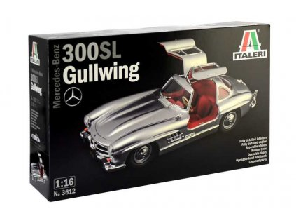 Model Kit auto 3612 Mercedes Benz 300 SL Gullwing 1 16 a100340556 10374