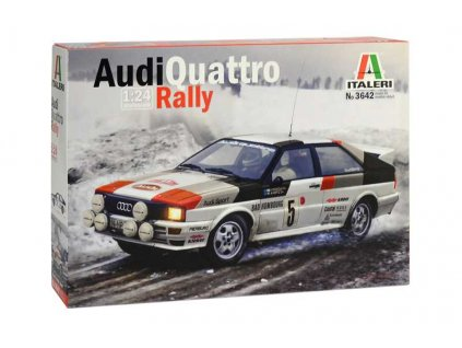 Model Kit auto 3642 Audi Quattro Rally 1 24 a100340486 10374