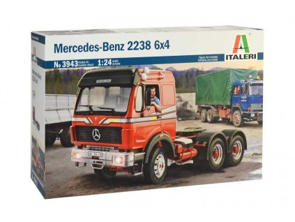 Model Kit truck 3943 Mercedes Benz 2238 6x4 1 24 a100340532 10374