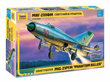 Model Kit letadlo 7202 MIG 21PFM PHANTOM KILLER 1 72 a98929940 10374