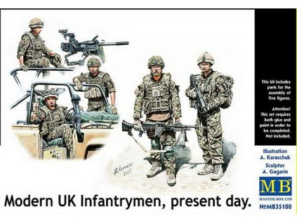 Modern UK Infantrymen 1:35