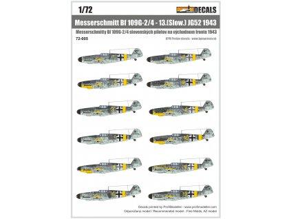 72 005 Bf109G JG52