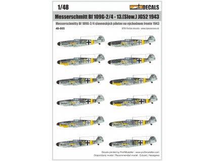 48 005 Bf109G JG52