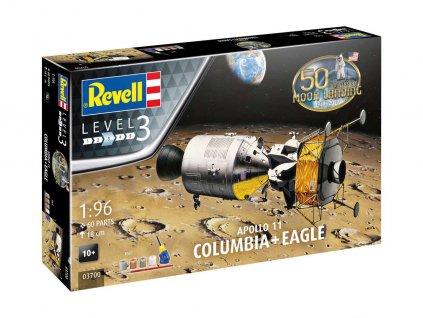 Gift Set 03700 Apollo 11 Columbia Eagle 50 Years Moon Landing 1 96 a99287487 10374