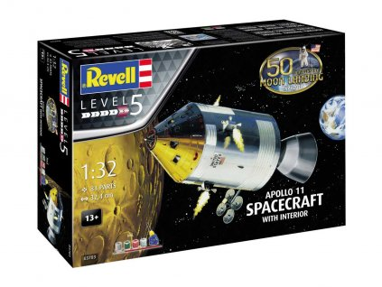 Gift Set 03703 Apollo 11 Spacecraft with Interior 50 Years Moon Landing 1 32 a99287856 10374