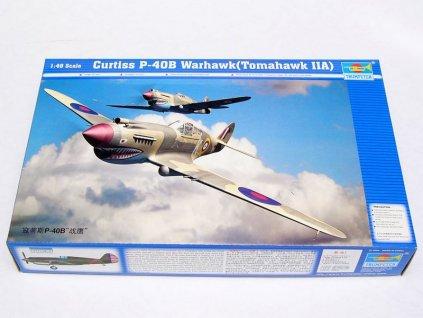 Curtiss P-40 B Warhawk 1:48