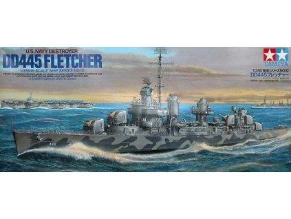 USS Fletcher DD-445 1:350